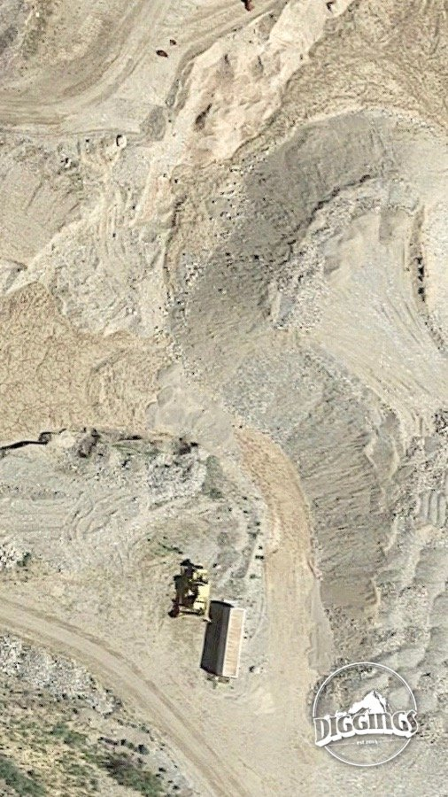 Satellite map view of the High Bar Mine in Baker County, Oregon mined by the Hoffman crew over Season 7 of the Gold Rush reality TV series from Discovery Channel.