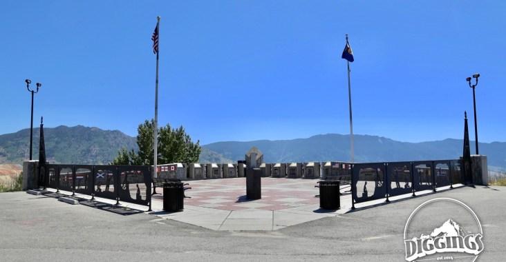 Entering the Granite Mountain Memorial