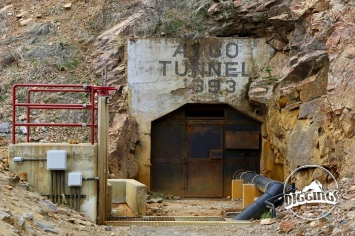 Argo Tunnel at the Argo Gold Mine & Mill, Idaho Springs, Colorado