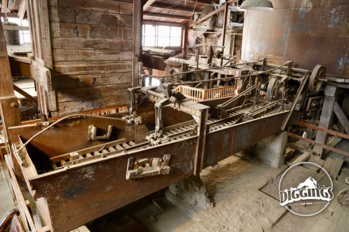 Inside the Argo Mill at the Argo Gold Mine & Mill, Idaho Springs, Colorado
