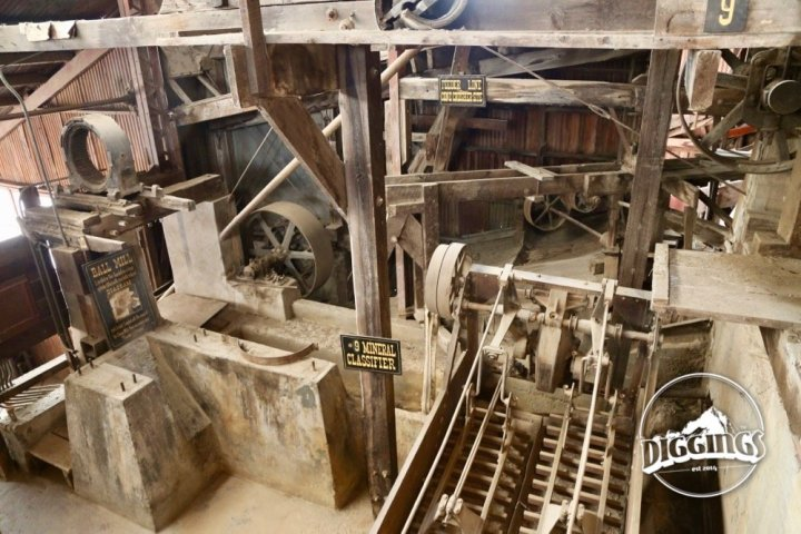 Ore processing equipment at the Argo Gold Mine & Mill, Idaho Springs, Colorado