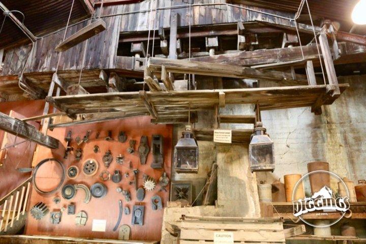Mining Equipment at the Argo Gold Mine & Mill, Idaho Springs, Colorado