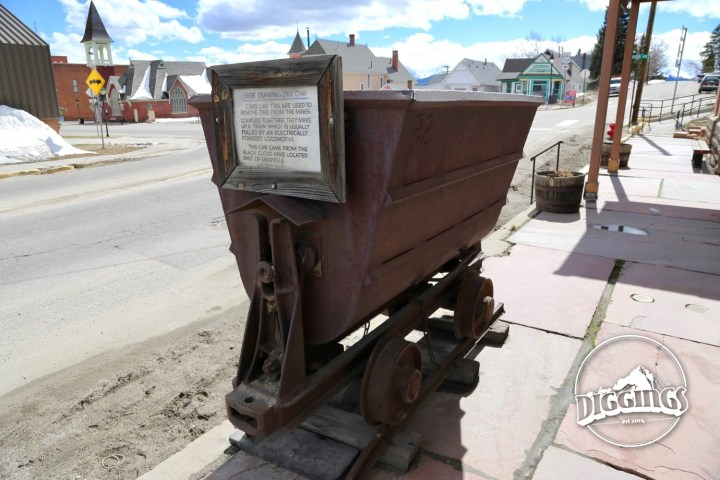Ore Cart at the Leadville Heritage Museum and Gallery