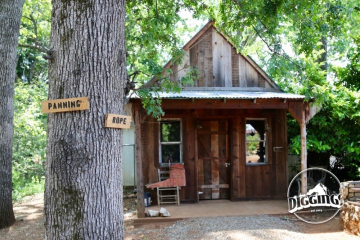 Miner's Cabin at the Gold Nugget Museum