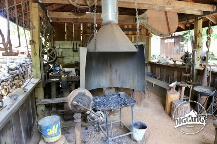 Blacksmith Shop at the Gold Nugget Museum
