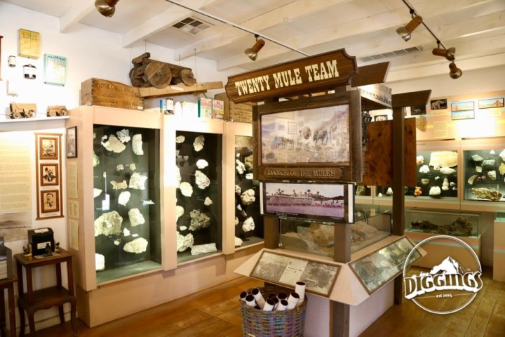 Inside The Borax Museum