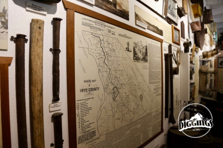 Mining Districts in Inyo County at The Borax Museum