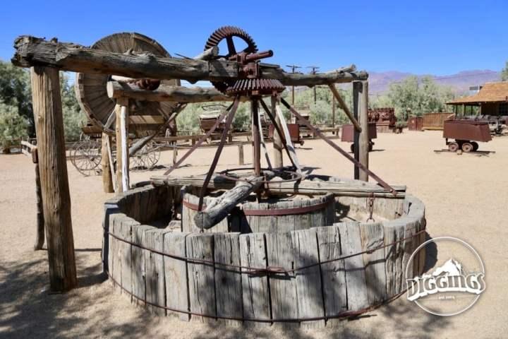 Equipment behind The Borax Museum