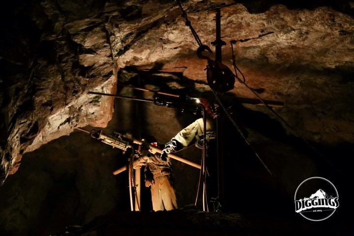 Drill Demonstration at the Soudan Underground Mine State Park