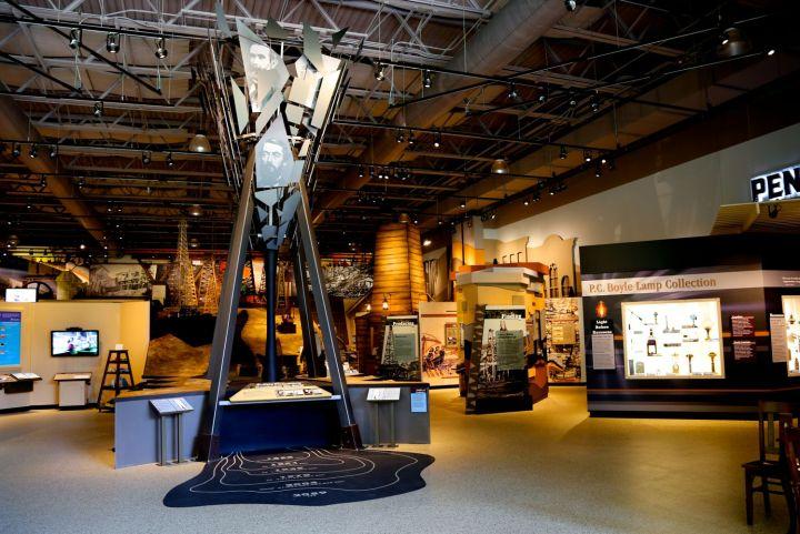Inside the Drake Museum