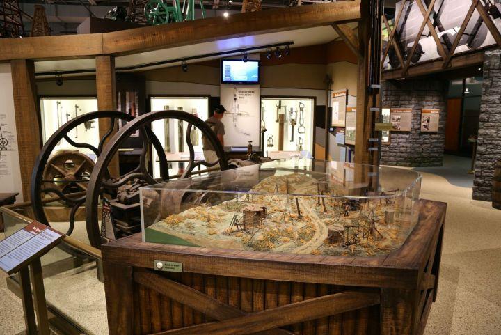 Oil Field Diorama