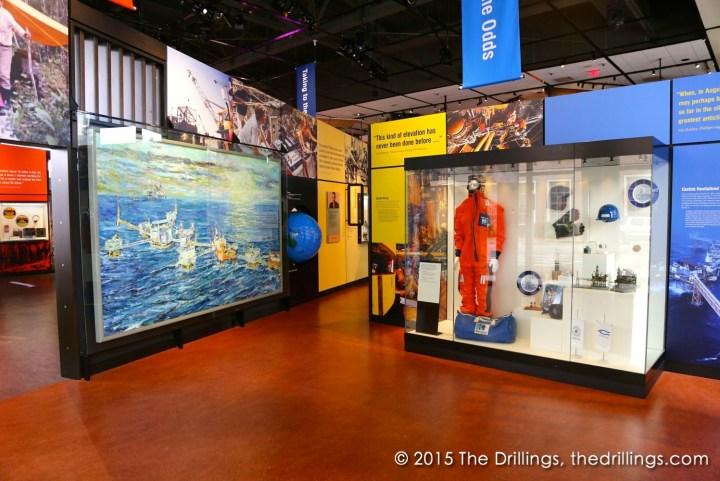 Arctic drilling display