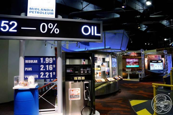 Gas Station display.