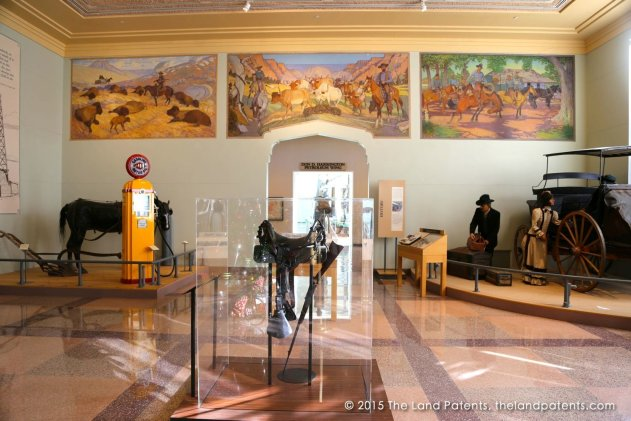 Inside the Panhandle–Plains Historical Museum