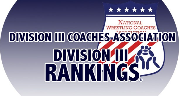 NCAA Division III Wrestling Rankings