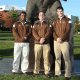 Brown Wrestling Staff