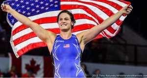 Adeline Gray USA Wrestling