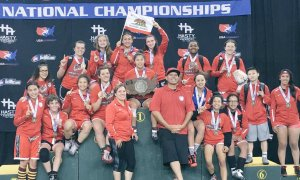 2016 Junior Women's Dual Champions