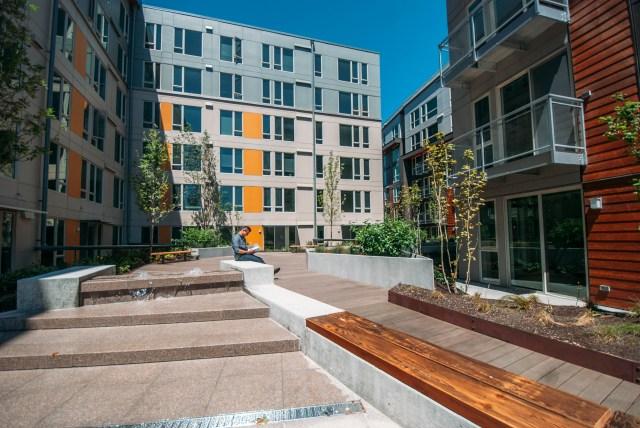 Mack Urban Eleanor Seattle Roosevelt residential urban village MFTE program Greenlake Compass Runberg Architecture Group Hewitt