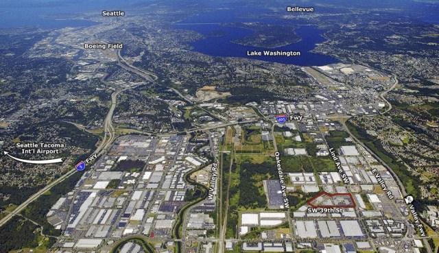 LBA Realty, Renton, Puget Sound, Time Square, Greenbridge Investment Partners, Cushman & Wakefield Commerce, Kidder Mathews