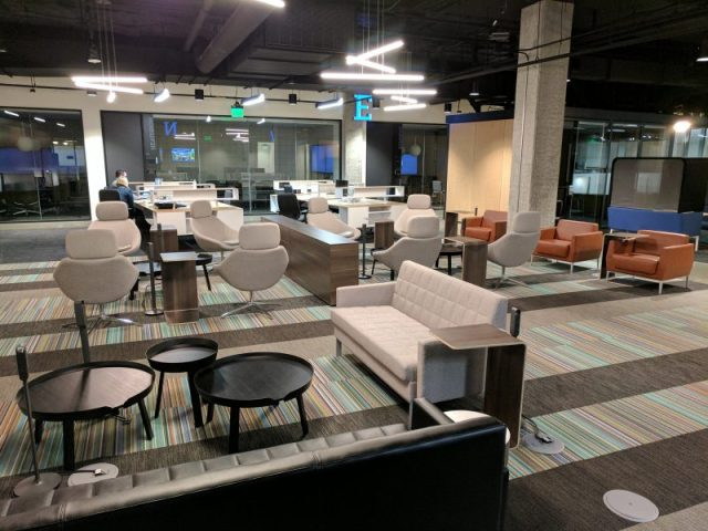 ATLAS Workbase, OpenSquare, Gensler, Steelcase Inc, FedEx Office, Philips Lighting, Seattle, Puget Sound