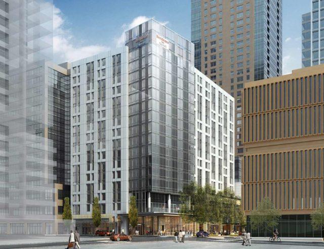 Mortenson Construction, Stonebridge Companies, Mortenson,Residence Inn, Marriott, Weber Thompson, Hotel, Seattle,