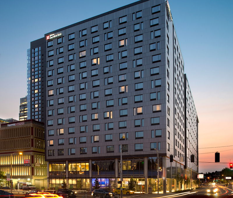 Union Investment Buys Hilton Garden Inn Hotel in Seattle for 88MM