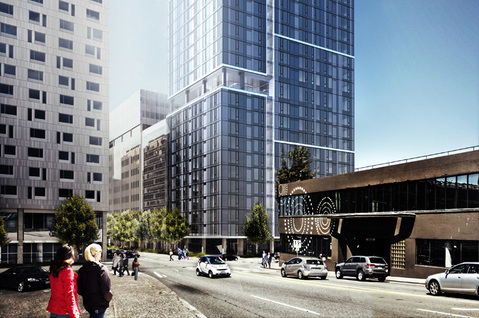 AMLI Arc High-Rise in Seattle Nears Completion - The Registry