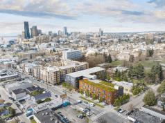 Seattle, Washington, Puget Sound, Gustafson Guthrie Nichol, Daniels Real Estate, Graham Baba Architects, Pratt Fine Arts Center
