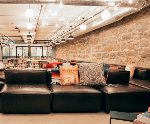 Coworking, shared space, colliers, WeWork, Regus