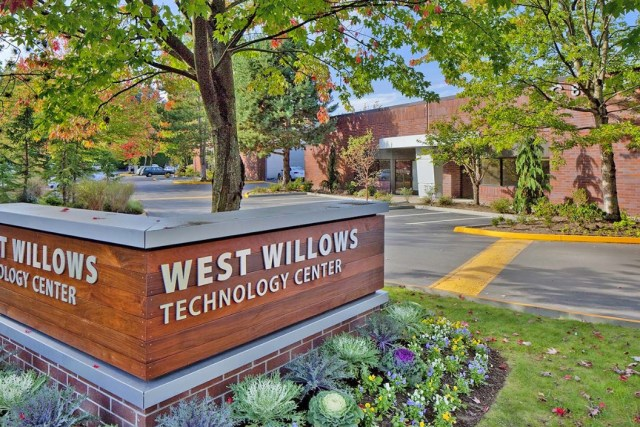 West Willows Technology Center, CBRE, Alaskan Copper & Brass Company, King County, Burnstead Construction Company, Pine Forest, Foster City, Legacy Partners,