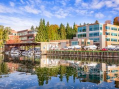 Kirkland, Yarrow Bay Marina, Lake Washington, First American Exchange Holdings, Seattle, Cushman & Wakefield Commerce Puget Sound