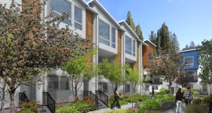 University Trailer Park, Ravenna, King County, Intracorp, Seattle, Ravenna North Townhouse Development, NK Architect, Landscape Design Group Inc., Avid Townhomes, Bellevue