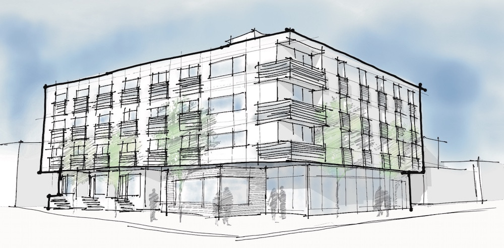 60 unit project in seattles green lake neighborhood approved at seattle green lake early design guidance meeting blueprint capital cone architecture malvernweather Choice Image