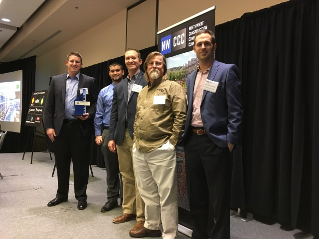 Northwest Construction Consumer Council, PCL Construction Services, Lynnwood Convention Center,PCL Construction, Green Project Award