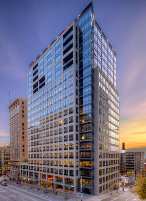 Seattle, Union Investment, Millennium Tower, Seattle, TH Real Estate, CBRE, Denny Triangle,