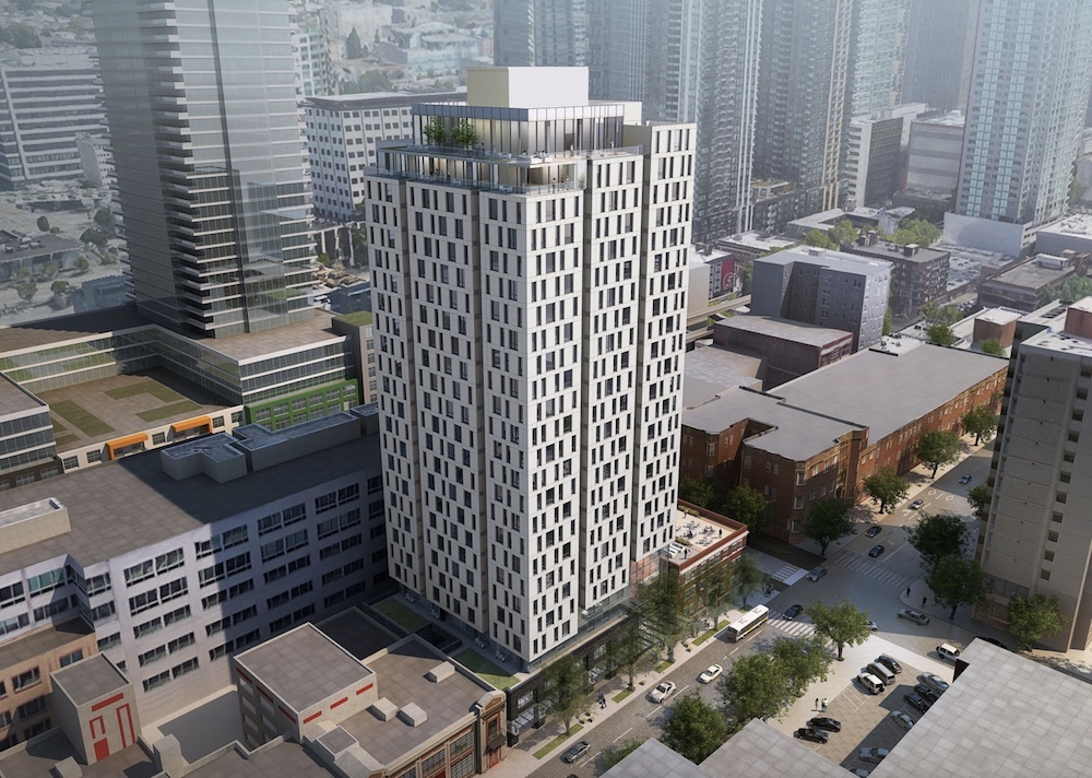 285-Unit Residential High Rise in Belltown Approved at Design Review ...