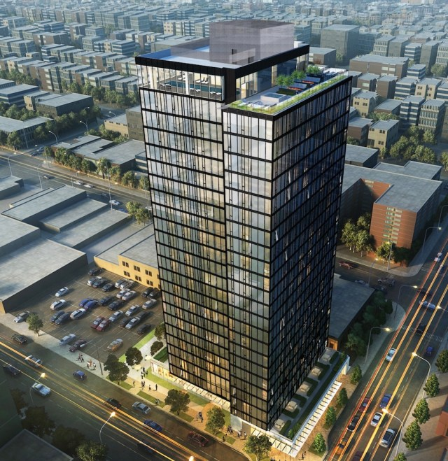 Seattle, NBBJ, University District, Early Design Guidance, Design Review Recommendation, University of Washington, Brooklyn Avenue