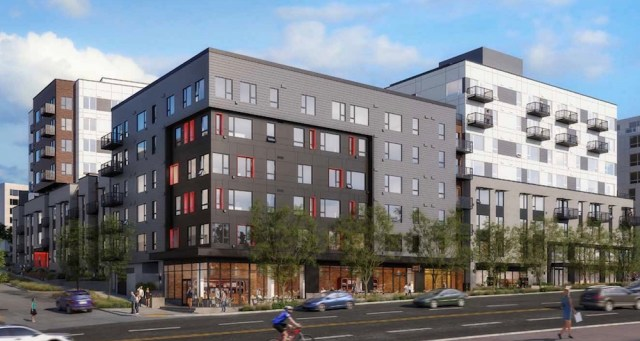Seattle, Ankrom Moisan Architects, Site Workshop, Lowe Enterprises, Yesler Terrace, design review recommendation meeting, conditions