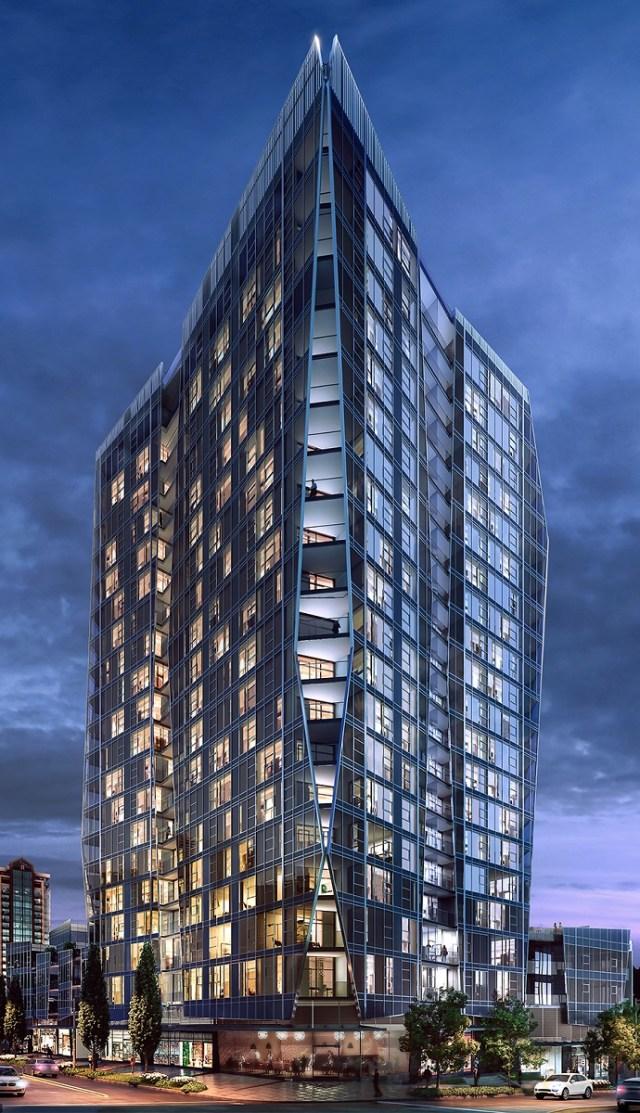 Colliers International, Bellevue, Bosa Development, One88, Bellevue Downtown Park, Amanat Architect, Pacific Northwest, Bellevue Way corridor