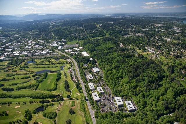 Seattle, Blackstone Group, Preylock Real Estate Holdings, Broderick Group, Facebook, Willow Creek Corporate Center, Redmond, HFF