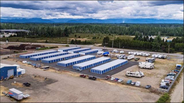 Marcus & Millichap, Freedom Self Storage. Shelton, National Self Storage Group, Seattle, Union, Allyn Grapeview, West Olympia, Washington