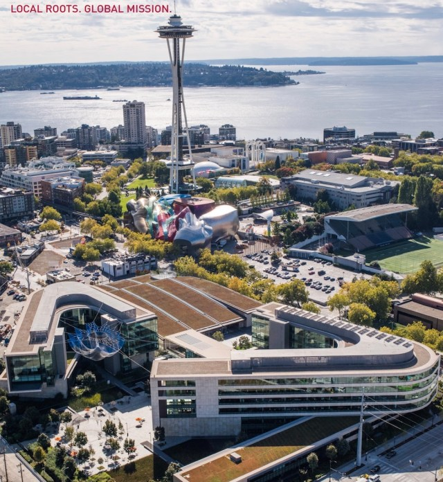 Seattle, Bill & Melinda Gates Foundation, Steelcase, King County, economic activity, workplace strategies, change management