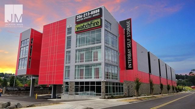 Jackson   Main Architecture, Interbay Self Storage, Seattle, Crystal Peaks Storage Group, Whole Foods, Sierra Construction Company, Interbay Self Storage