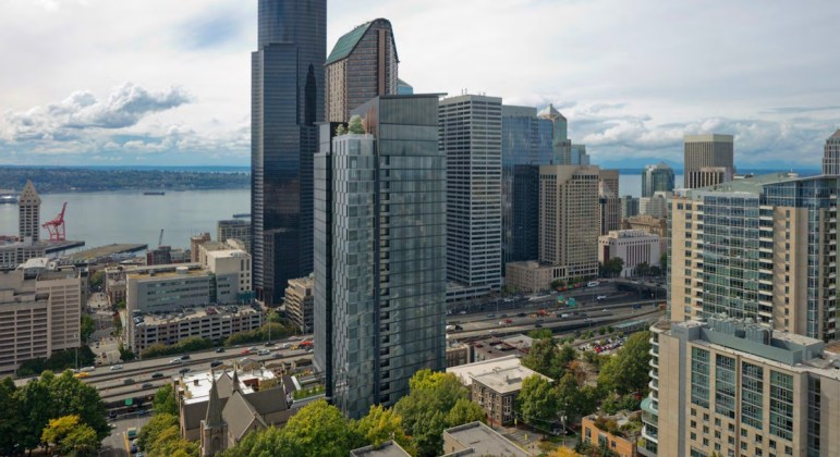 Seattle, Trinity Parish, Caydon USA, First Hill, Compton Design Office, Solomon Cordwell Buenz, Westbank Frye High Rise, Lennar