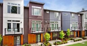 Avid Townhomes, Higlands, Bellevue, FREIHEIT Architecture, Kelsey Creek, Yu & Trochalakis, Core Design, Altman Oliver Associates, BRC Acoustics & Audiovisual Design