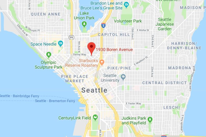 Amazon South Lake Union Campus Map.Trammell Crow Buys South Lake Union Property In Seattle For 17 3mm