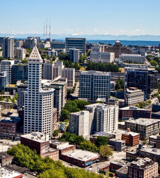 Seattle, Unico Properties, AEW Capital Management, South Lake Union, Butler Garage, Pioneer Square, Grand Central Block redevelopment