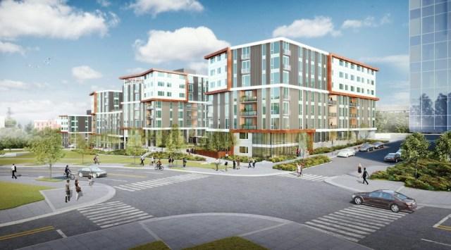 Seattle, Runberg Architecture Group, Capstone Partners, Vulcan Real Estate, Esterra Park, Redmond, Gold Nugget Awards, Overlake