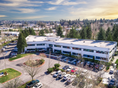 Newmark Knight Frank, Kirkland, Kirkland 405 Corporate Center, TA Realty, SmartCap Group, Seattle, Oculus VR, Facebook, Google, Evergreen Hospital